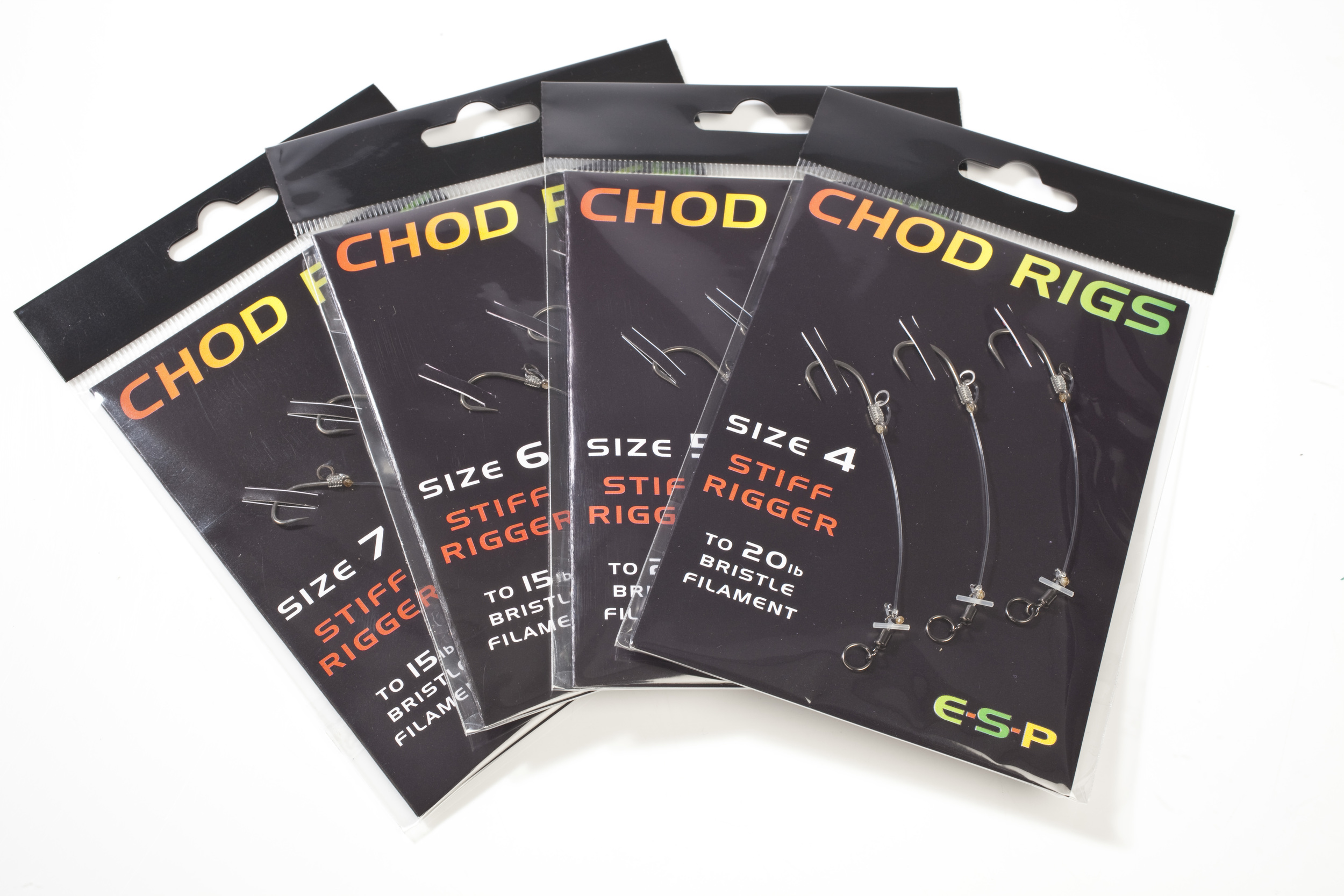 ESP release range of ready-tied chod rigs for carp fishing