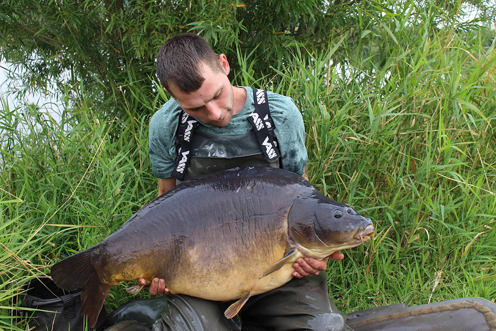 Three Scale caught again, this time by Brian Latham at 52lb 10oz.