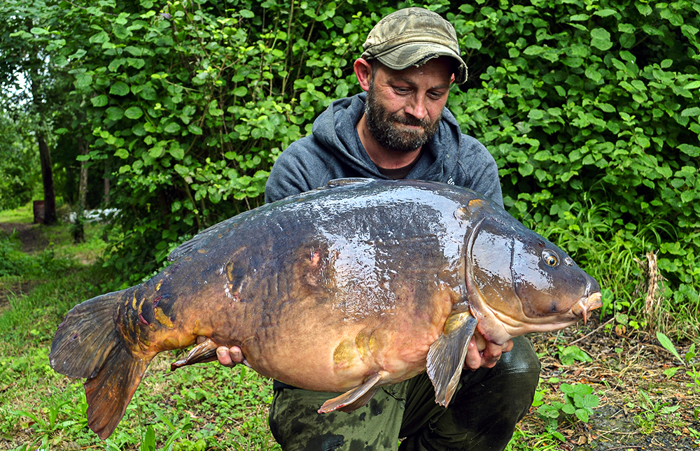 First to fall to Dan Leney at distance was the 45lb 12oz Two Tone.