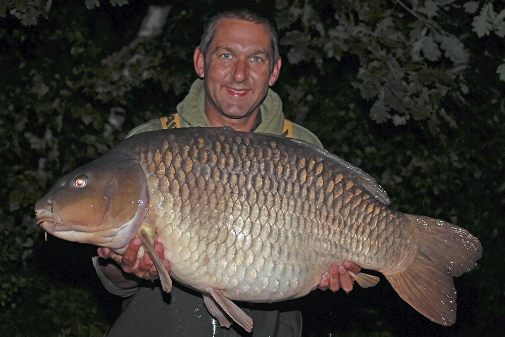 Lewis Read with the 50lb Chinese Common.
