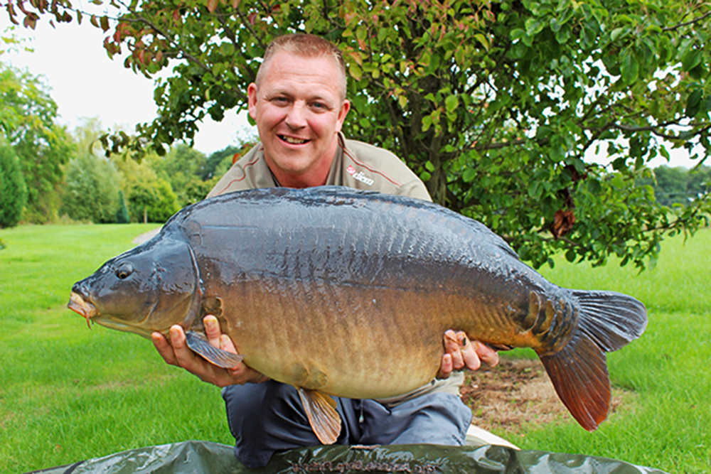 This one weighed in at 35lb 8oz.