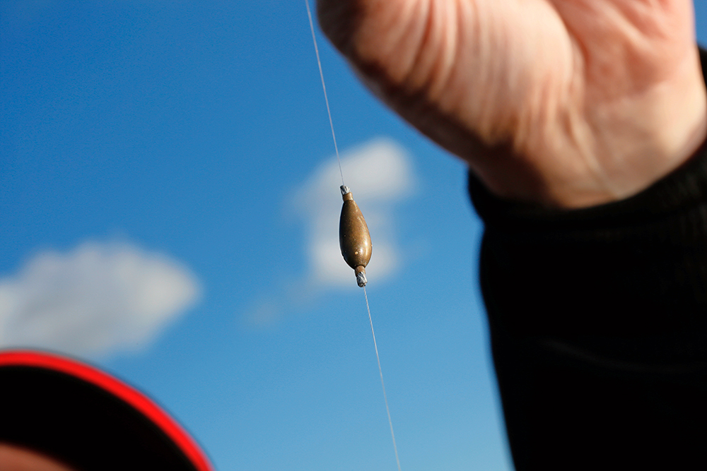 An olivette is a must-have for roach when fishing floats of 0.75g or heavier, on the bottom