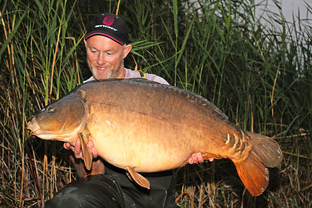 Jon Taylor snatched Brick Top at 45lb 6oz.