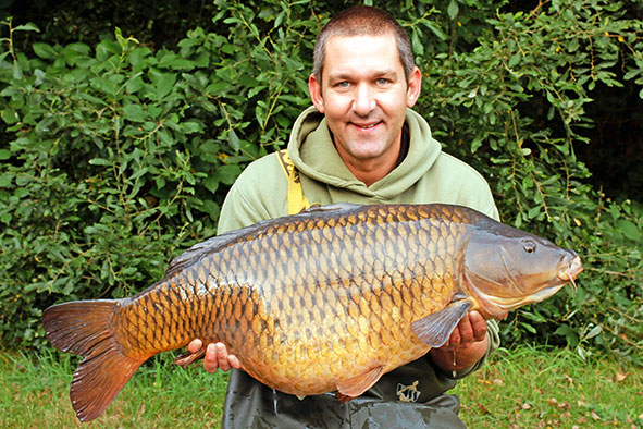 Lewis's fine 30lb 8oz Frimley common.