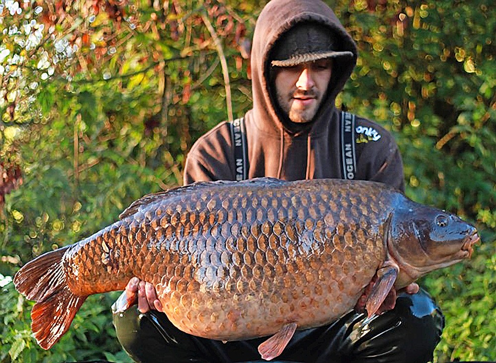 Luke with the Box Common at 45lb 12oz.