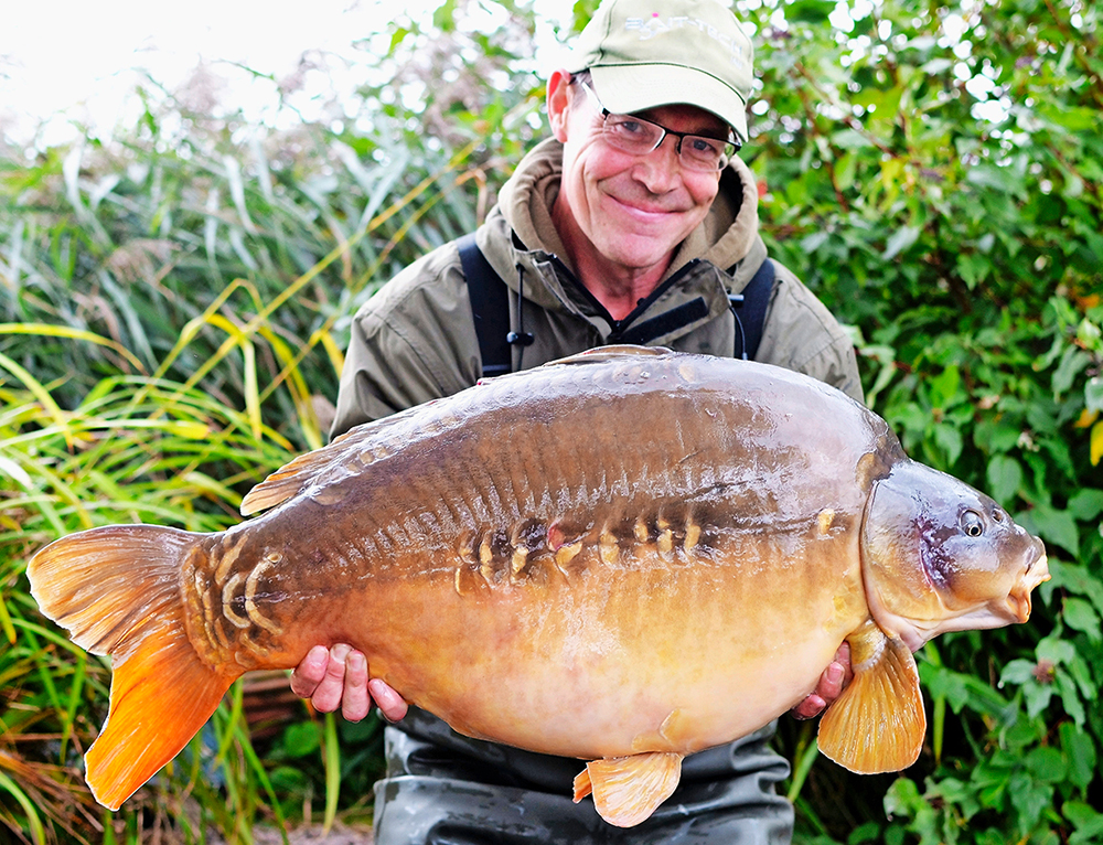 This 41lb 3oz fish liked Ian's new boilies!