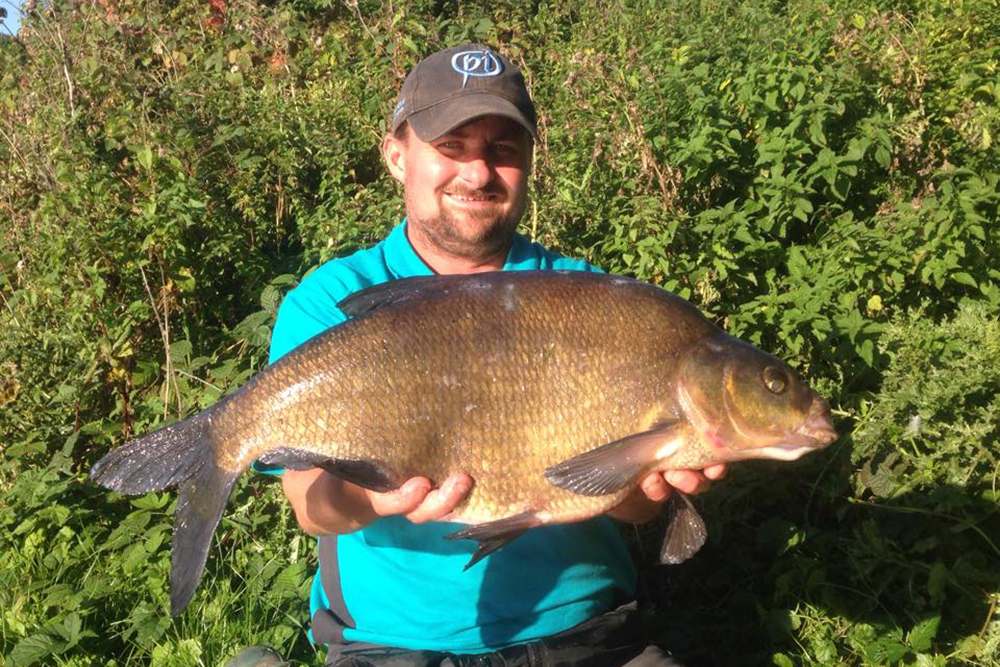 Wiltshire: The biggest of four doubles on feeder tactics taken by Mark Doherty weighed 13lb 5oz.