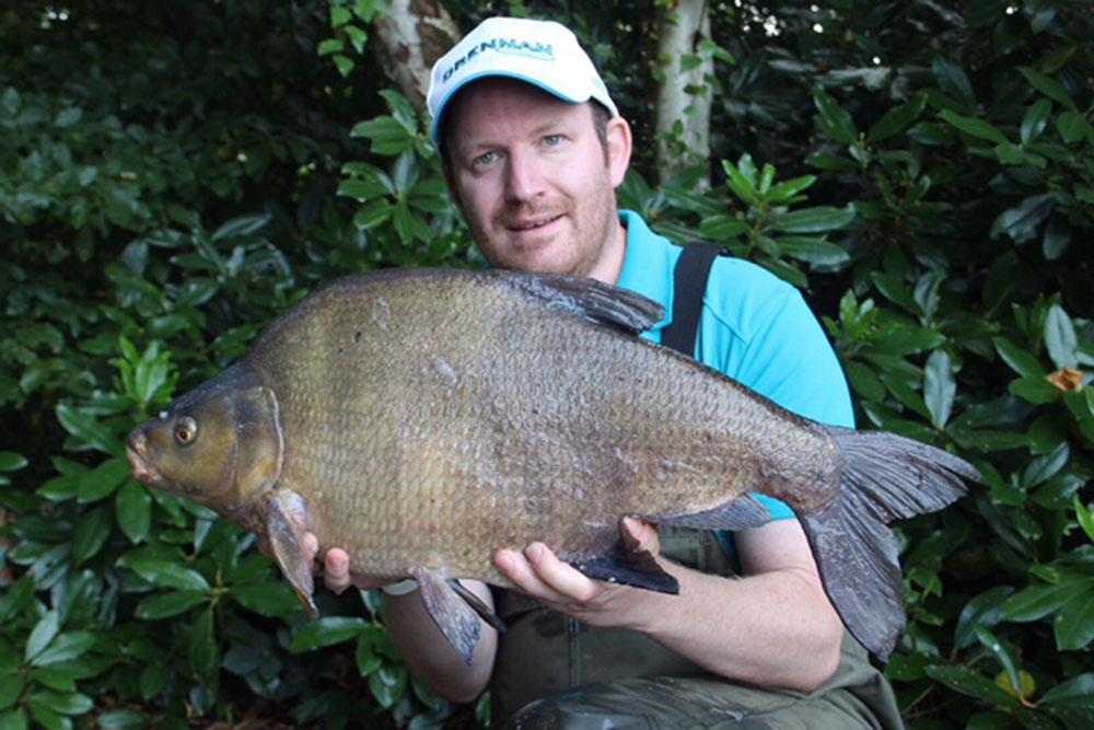 Hampshire: Matthew Tann's  12lb 10oz personal-best bream fell to a popped-up corn hookbait.