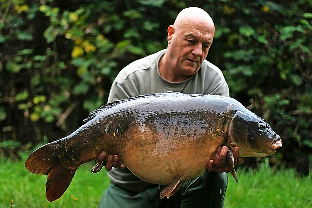 Theimpressive 'Scar', weighing in at 47lb 10oz