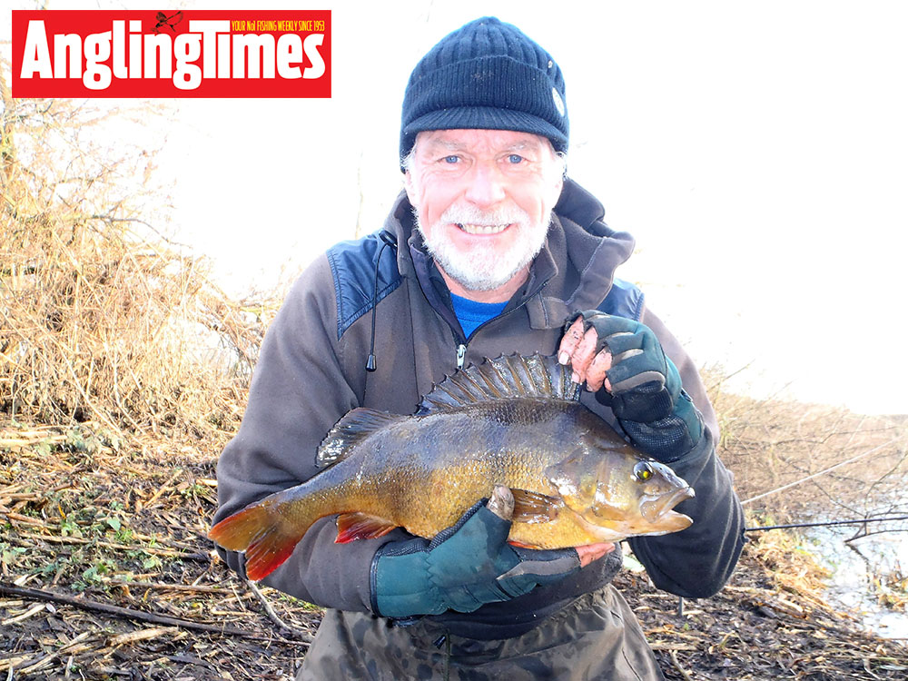Tony Hopley caught this 4lb 10oz using molehill soil