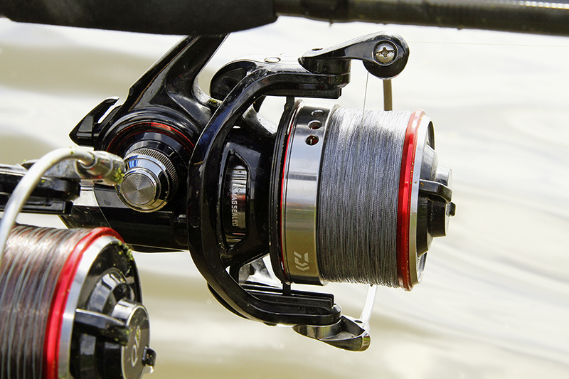 Spool up with braid when bream fishing.