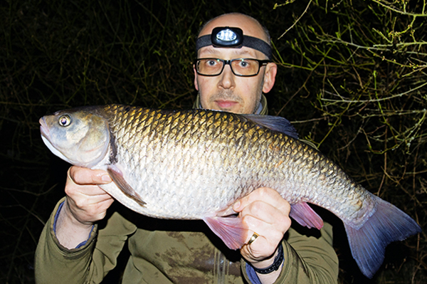 Andy Birch's Lea chub weighed in at 8lb 2oz