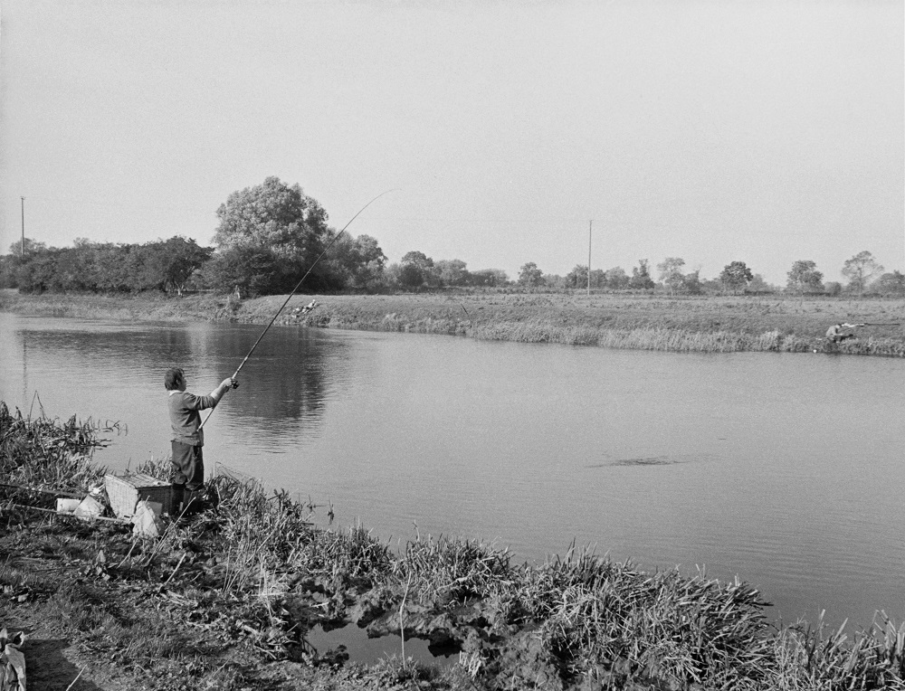 Ivan Marks loved to fish the River Welland at Crowland