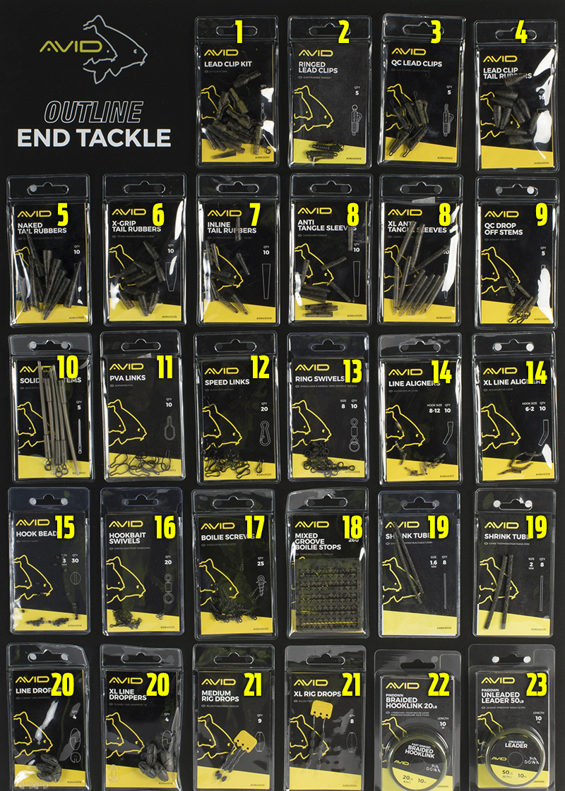 AVID AVBRD-17 AVID OUTLINE END TACKLE BOARD COMPLETE copy.jpg