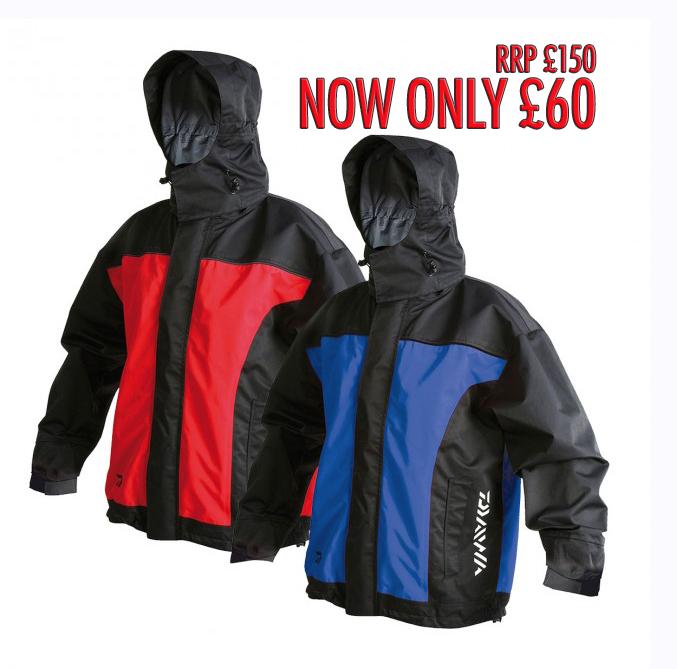 3f623405885 Daiwa Team Waterproof Jacket offer — Angling Times