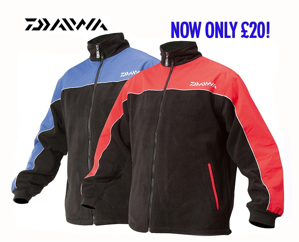 Daiwa Fleece Jacket Angling Times