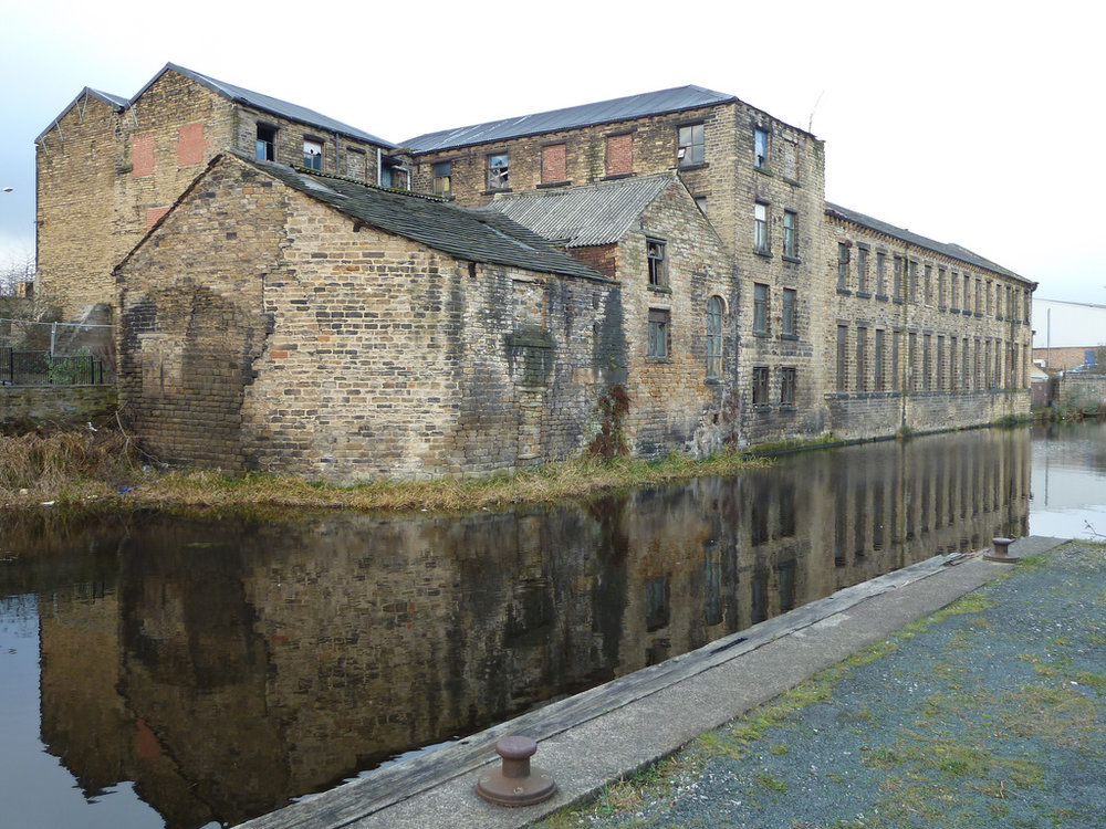 Huddersfield's industrial Broad Canal is ideal for a spot of street fishing