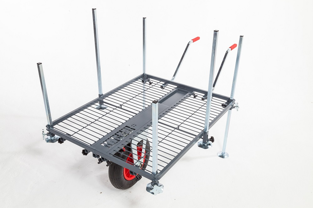 The Rigger Plus Platform system comes with a barrow facility for carrying your gear.