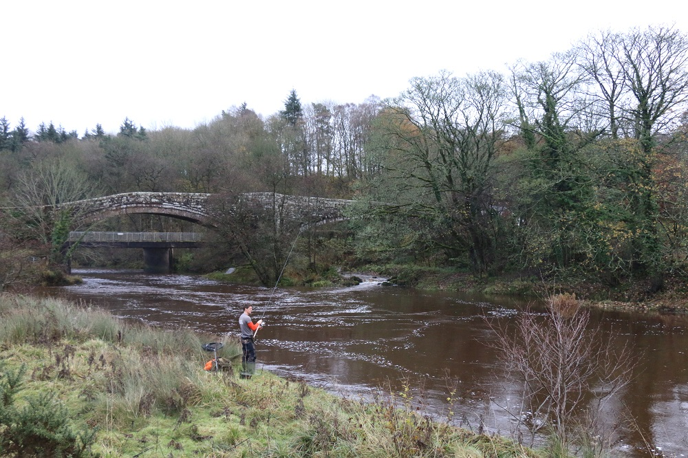 The River Irthing is a top Cumbria fishing spot