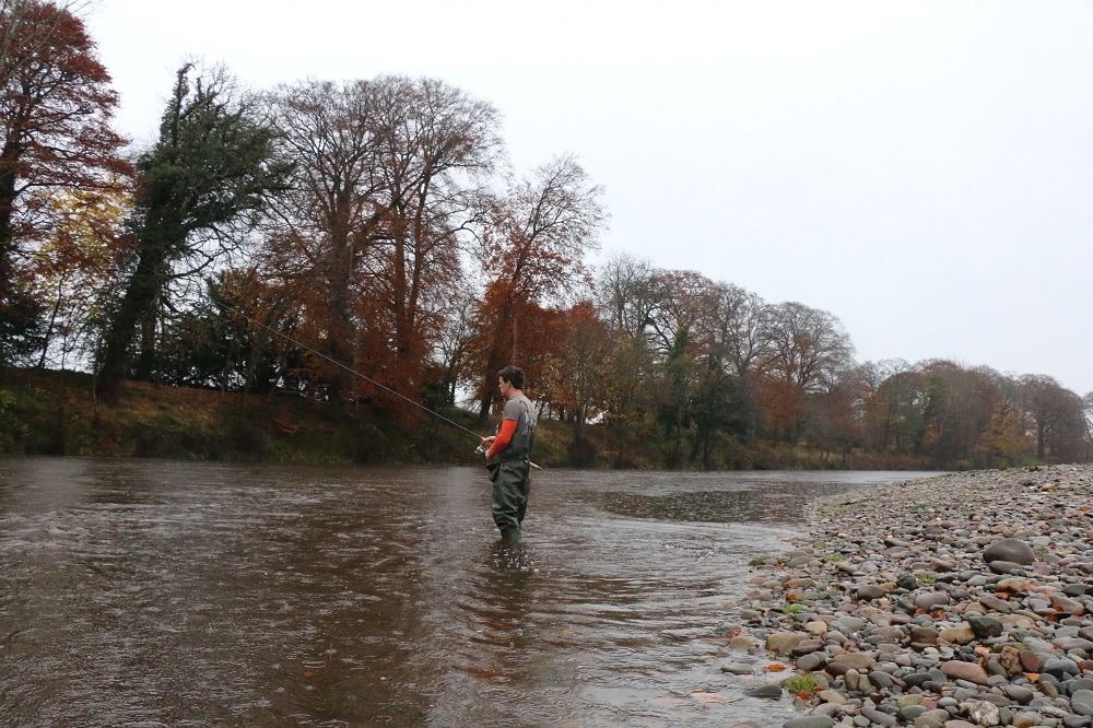 Warwick Hall on the River Eden is a great place to trot for grayling