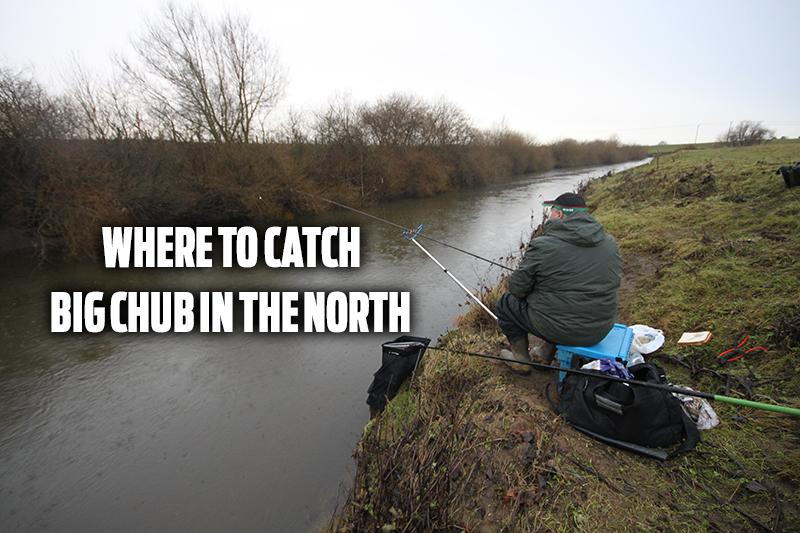 near fishing rivers chub catch north big