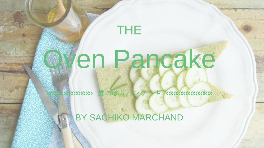 鯉のぼりのオープンパンケーキレシピ