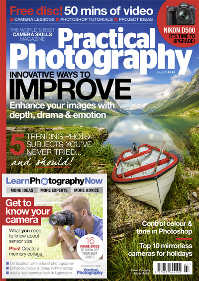 July 2016 issue of Practical Photography magazine