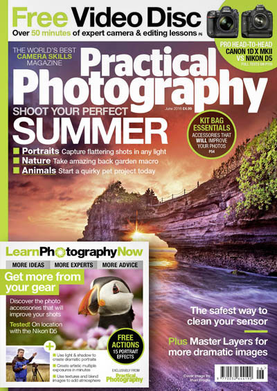 June 2016 issue of Practical Photography magazine