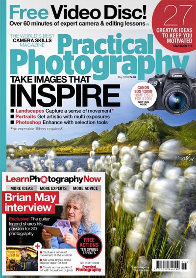 May 2016 issue of Practical Photography magazine