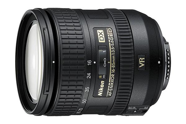 Nikkor 16-85mm AF-S DX f/3.5-5.6G ED VR