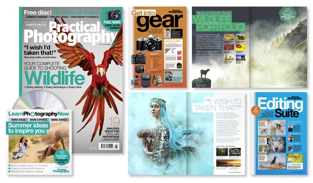 August 2016 issue of Practical Photography magazine