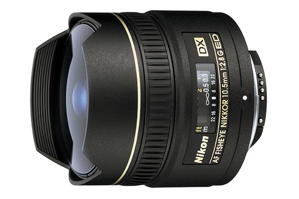 Nikon AF-S Fisheye-Nikkor 10.5mm f/2.8G ED DX