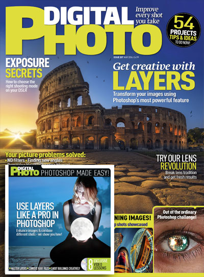 May 2016 issue of Digital Photo