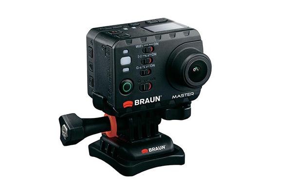 Braun Master Action Cam