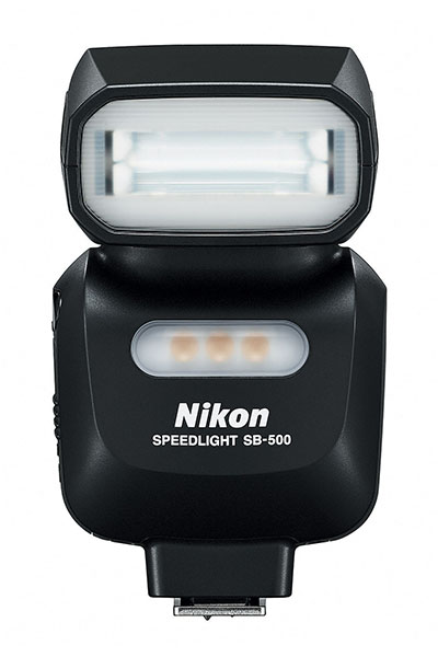 Nikon Speedlight SB-500 - front