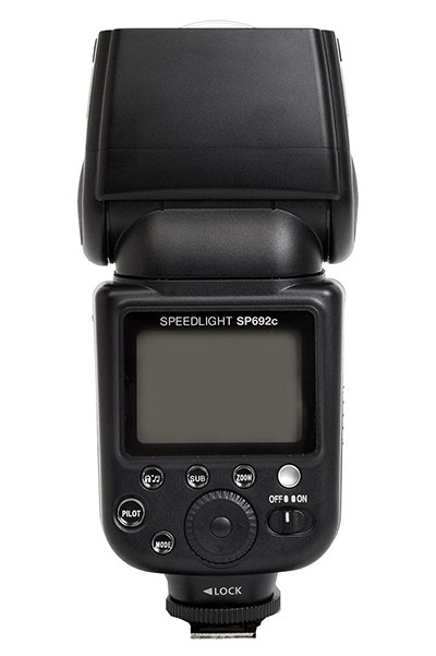 Calumet Genesis Speedlight SP692 - back