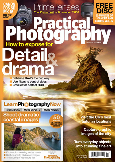 November 2016 issue of Practical Photography