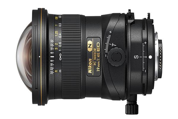 Nikon PC Nikkor 19mm f/4E ED tilt-shift