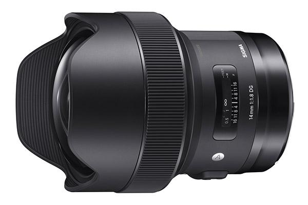 Sigma 14mm f/1.8 DG HSM | A