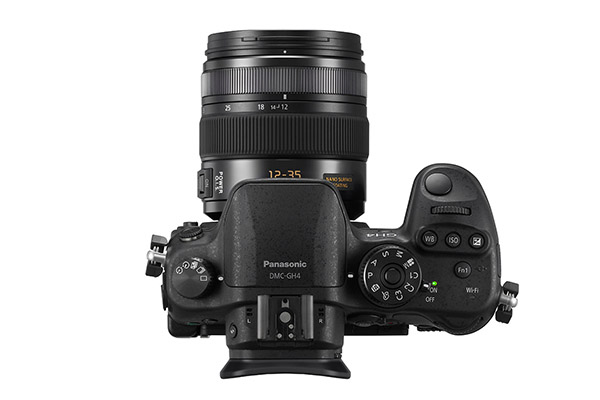 Panasonic GH4R - top
