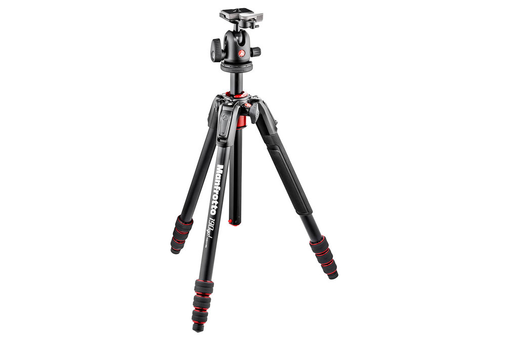The stylish Manfrotto 190 Go!