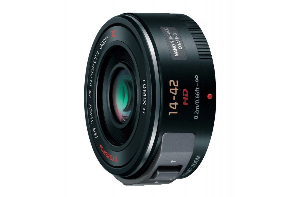 The Panasonic G Vario 14-42mm f/3.5-5.6 II ASPH lens for mirrorless cameras