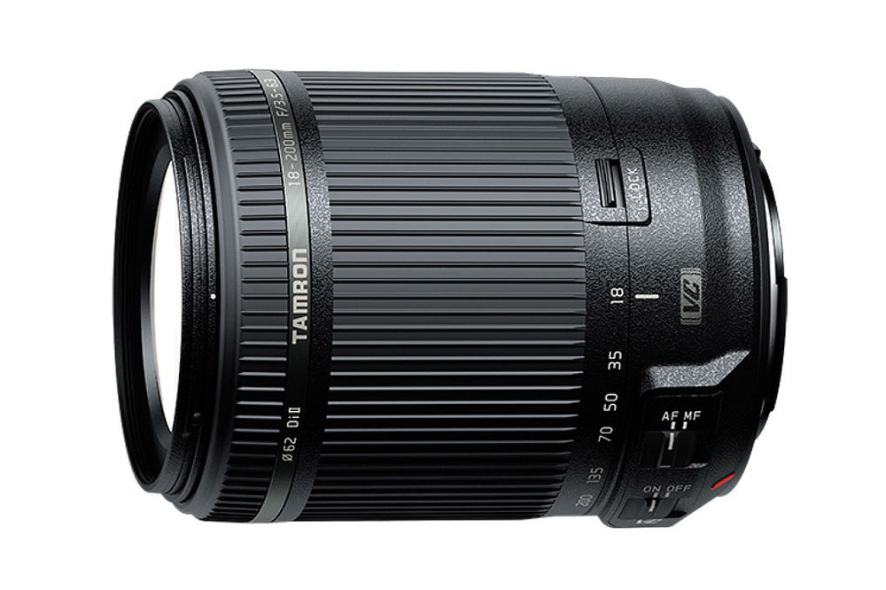The Tamron 18-200mm f/3.5-6.3 Di III VC lens for mirrorless cameras