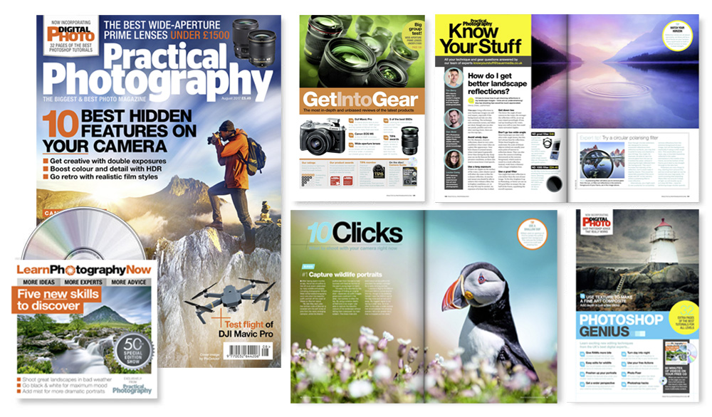 August 2017 issue of Practical Photography