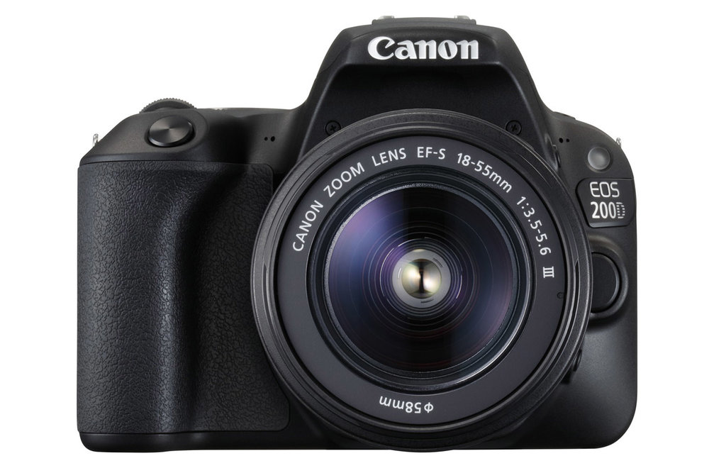 The Canon EOS 200D is the world's lightest DSLR with a vari-angle screen