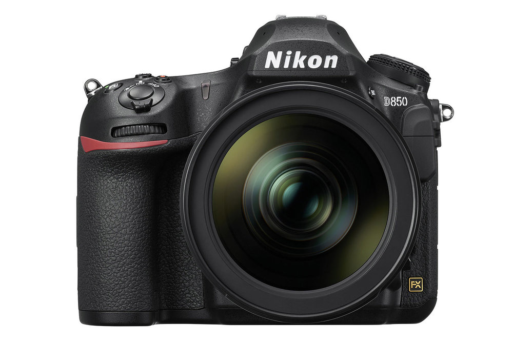 The Nikon D850 full-frame DSLR