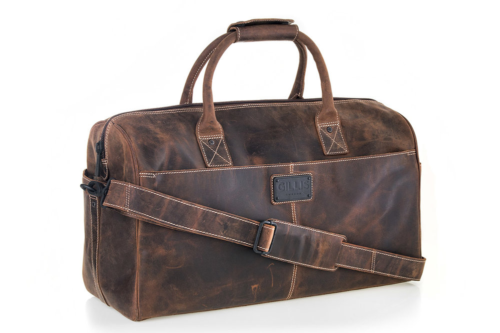 Gillis London Leather Duffle Bag 7710T