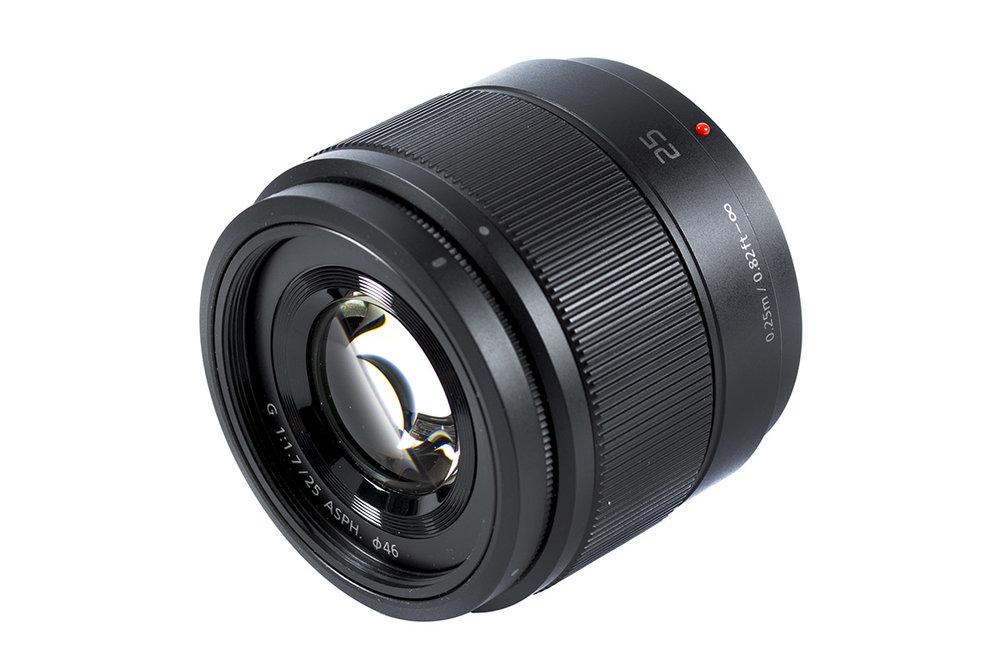 Panasonic Lumix G 25mm f/1.7 ASPH