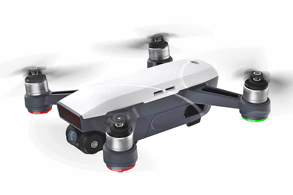 The revolutionary DJI Spark drone