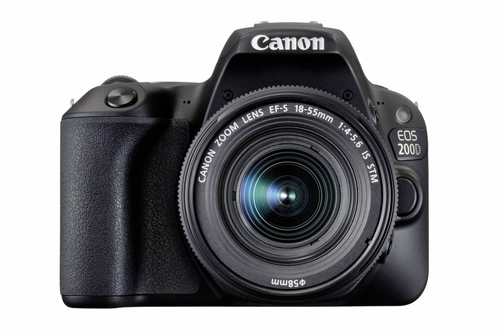 The entry-level Canon EOS 200D